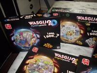 Wasgij 1000 piece jigsaws