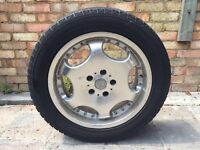Alloy wheels with new tyres for estima for sale only £250