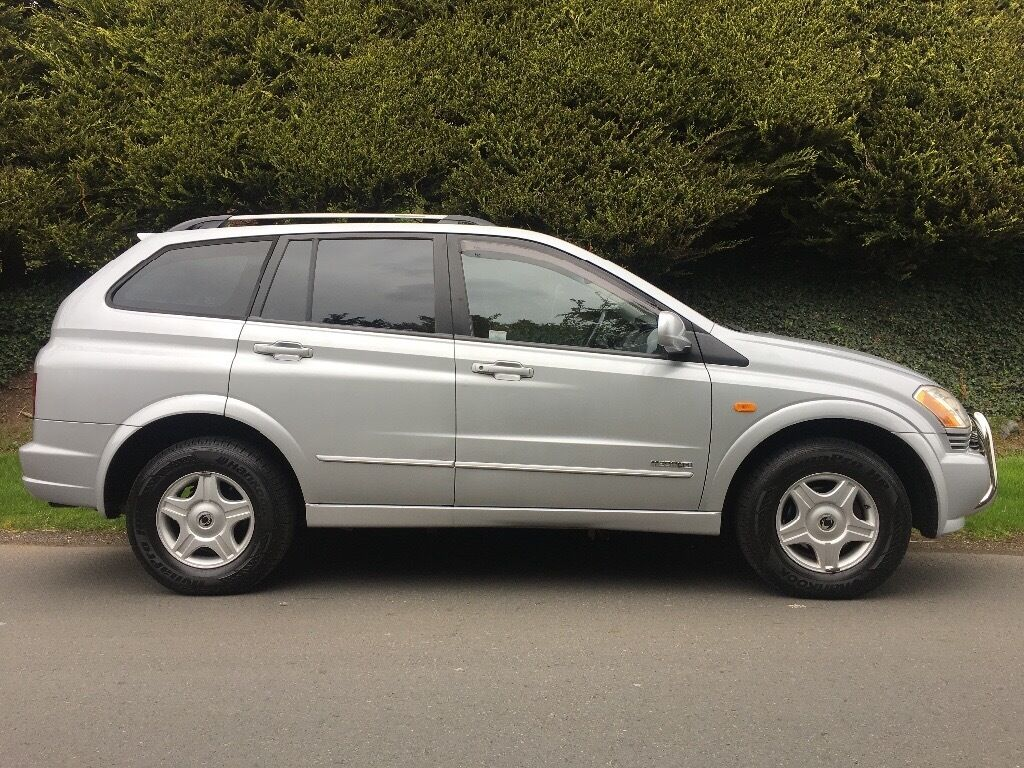 2008 ssangyong kyron 2 0 diesel automatic jeep 4x4