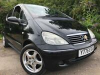 Mercedes A140 Automatic Long Mot Full Service History Drives Great Cheap To Run And Insure !!!