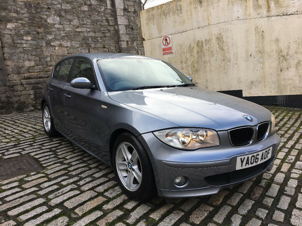 2006 bmw 118d sport 1 series super low mileage f s h full mot clean car in plymouth devon. Black Bedroom Furniture Sets. Home Design Ideas