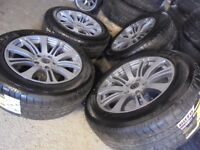 16inch new tyres Alloys Wheels Vw T5 van Vauxhall Vivaro traffic 5x120