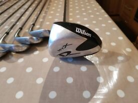 Left handed golf irons
