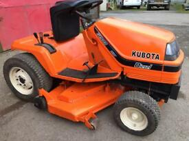 Kubota diesel ride on mower
