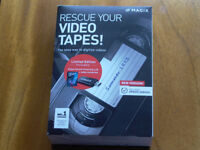 Magix convertor - video tapes to DVD. Half price offer, but brand new in original box.box.
