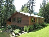 Enderby/Mable Lake - 3 bdrm Home, 55 Rugged Acres