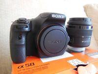 Sony Alpha A58 20.4MP Digital SLR Camera - Black (Kit w/ DT 18-55mm Lens). Brand New