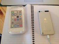 iPod Touch 5th generation, 5G, 64GB, white/silver, excellent cond, hardly used, iOS 9.0.2