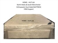 New SUPER-KING-SIZE 6ft Orthopaedic Mattress & Divan Base with X2 Drawers.