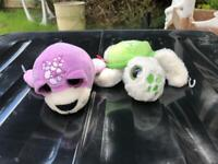 Keel toys seal and turtle plush toys