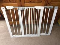 Pressure fit baby gates