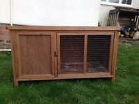 Hutch *suitable for two guinea pigs*