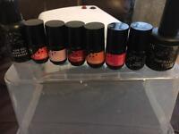 Elegant touch gel nail kit.