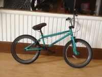 "BMX - refurbished Mongoose: 20"" wheels, 360 rotating handlebars"