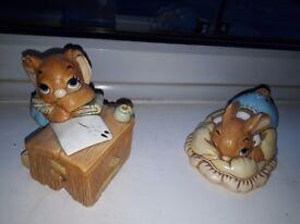 Cute Pendelfin figures