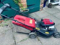 Petrol lawnmower now sold