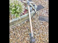 Vintage ATCO Lawn edger from 1930s potting shed