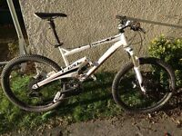 Whyte T120S quad link full suspension trail/mountain bike