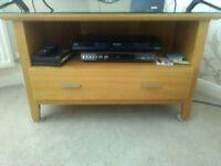 TV Unit solid light oak unit