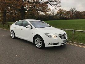Vauxhall Insignia 2009 59 reg 2.0 CDTi ecoFLEX 16v White Elite 5dr COLINDALE