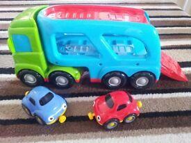 Car Transporter and Cars - ELC