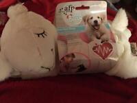 Heart beat lamb puppy comforter
