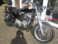 HARLEY DAVIDSON 1200 SPORTSTER SPORT MOTORCYCLE YEAR 2000