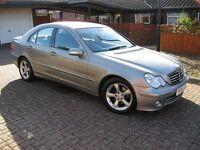 54 Reg Mercedes C220 SE 2.1 DIESEL AUTOMATIC, Mot April 17. £2,650.ono (P/X Welcome)