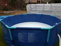 Paddling Pool - Metal framed
