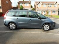 CITREON C4 GRAND PICASSO DIESEL 1.6 AUTOMATIC 7 SEATER