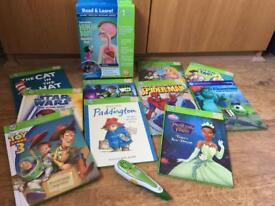 LeapFrog Tag Reader with 11 books