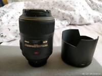 SOLD - Nikon AF-S VR Micro NIKKOR 105mm f/2.8G IF-ED Lens
