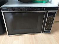 Sharp Carousel 600w large commercial style microwave