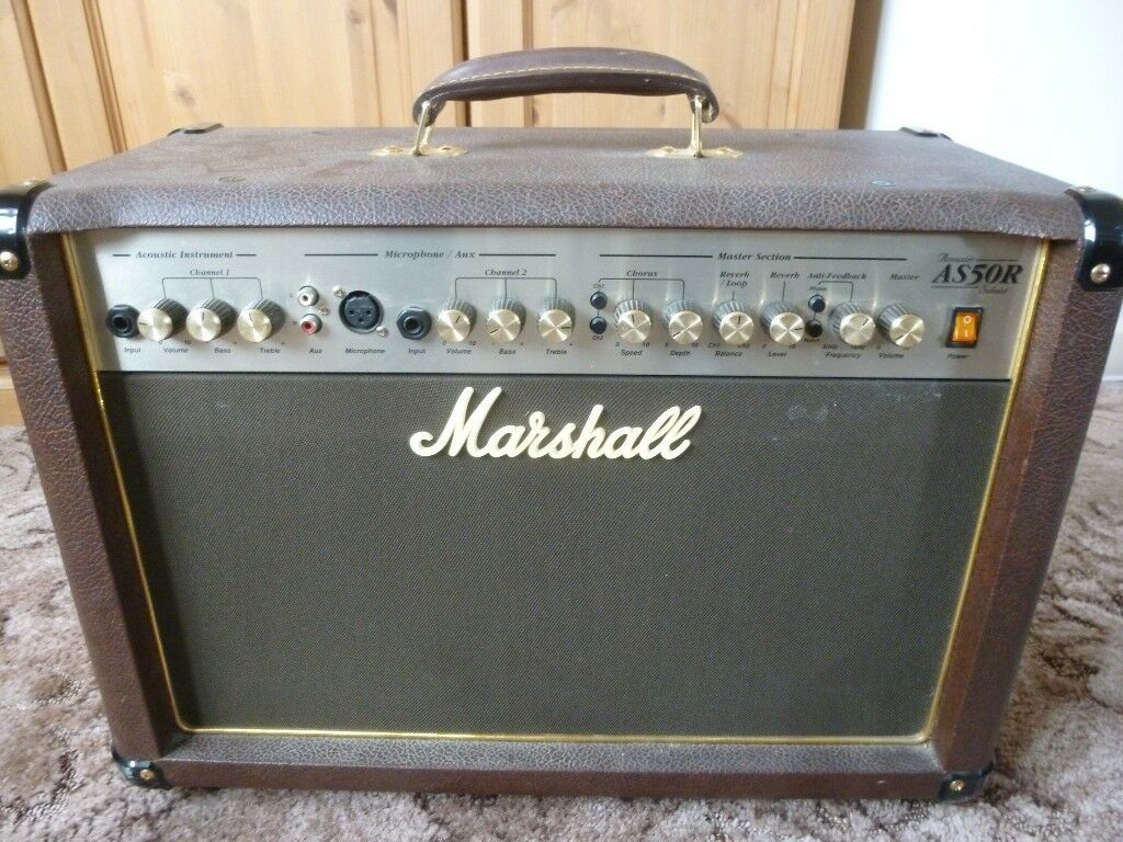 Marshall AS50R Acoustic Soloist 50 Watt Amplifier