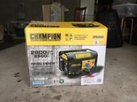Generator - Champion CPG 3500 - 2800 watt - USED ONCE, LIKE NEW