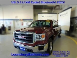 2014 GMC Sierra 1500 5.3L V8, TOW PACKAGE AND BRAKE CONTROLLER!