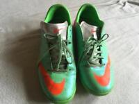 Nike men's trainers green size 9/44 used good condition £5