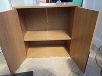 Cabinet / book cupboard argos home cubes oak effect