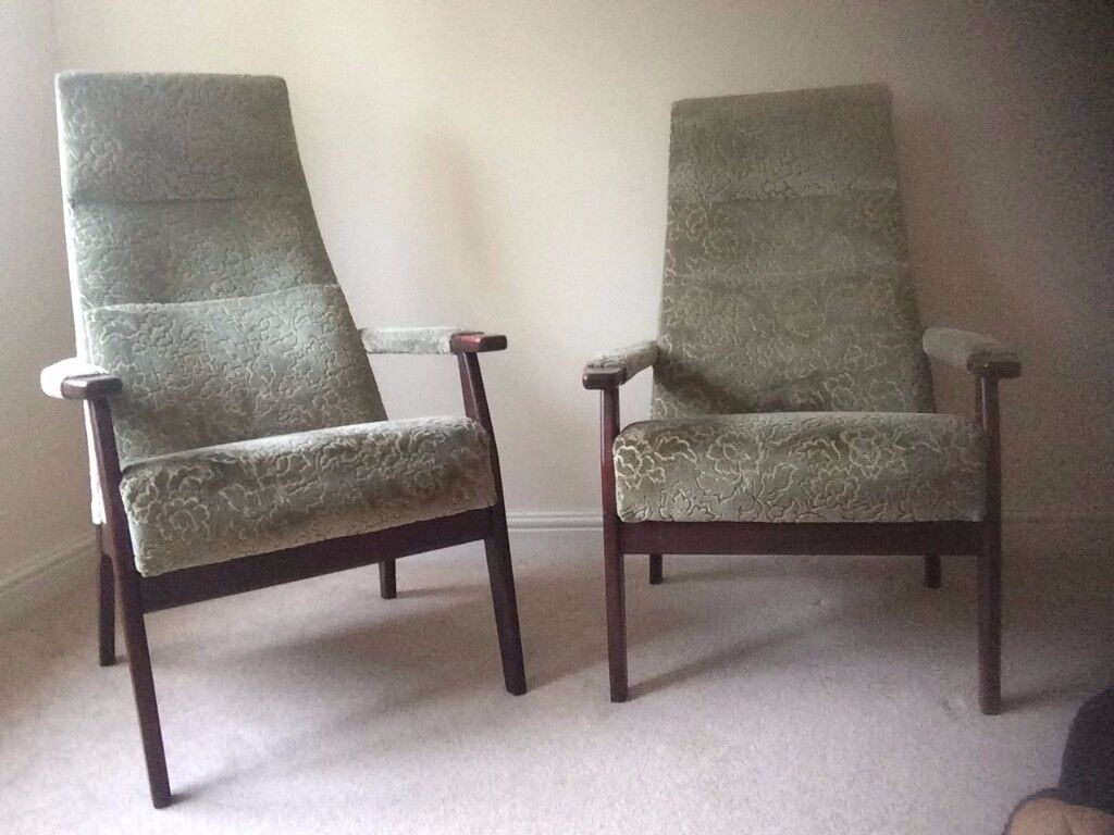 Two very comfortable Parker Knoll chairs. Little used.