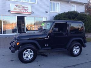 2006 Jeep TJ Sport NEW MVI EXCELLENT IN & OUT
