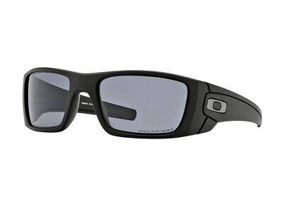 Sonnenbrille Oakley OO9096 FUEL CELL schwarz matte grau polarisiert 909605