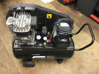 SIP professional Quality Air Compressor In Perfect, Near New Condition. Under 2 Years Old.