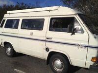 VW T25 caravelle campervanl