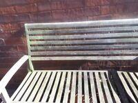 Garden seat. Good condition Buyer collect