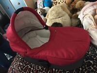 Like brand new! Mama and papa carry cot! £10