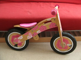 Tidlo girls balance bike