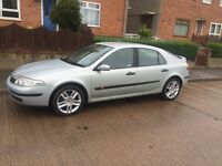 Renault LAGUNA 1.8 Petrol 04 Plate 12 Months M.O.T Low Mileage 103,000
