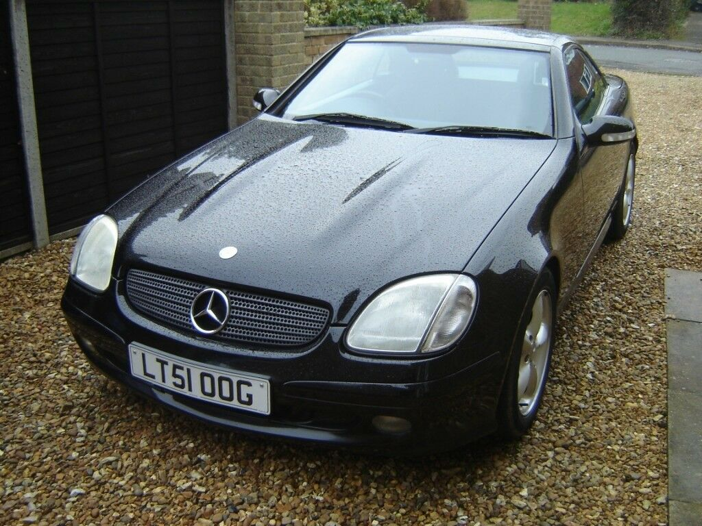 MERCEDES SLK 320 convertible, low mileage, outstanding condition, rare  manual gearbox.