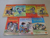 Set of 7 Horrid Henry 'Early Readers'