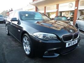 BMW 5 SERIES 2.0 520D M SPORT 4d 181 BHP (grey) 2011